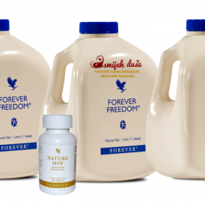 3x Forever Freedom 1x Nature Min